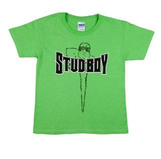STUD BOY 2013 LIME KIDS T SHIRT LARGE, Manufacturer LIBERTY, Manufacturer Part Number 2520 02 AD, Stock Photo   Actual parts may vary. Automotive