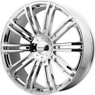 KMC KM677 20x8.5 Chrome Wheel / Rim 5x4.5 & 5x120 with a 35mm Offset and a 74.10 Hub Bore. Partnumber KM67728517235 Automotive