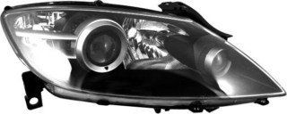 OE Replacement Mazda RX8 Passenger Side Headlight Lens/Housing (Partslink Number MA2519116) Automotive