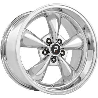 Strada Replicas 106 18 Chrome Wheel / Rim 5x4.5 with a 24mm Offset and a 70.6 Hub Bore. Partnumber 106C 816524 Automotive