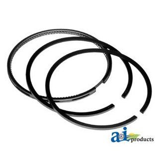 A & I Products Rings, Piston (3 Ring) Replacement for John Deere Part Number