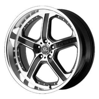 Lorenzo WL021 18x9.5 Black Wheel / Rim 5x4.5 with a 48mm Offset and a 72.60 Hub Bore. Partnumber WL02189512748 Automotive