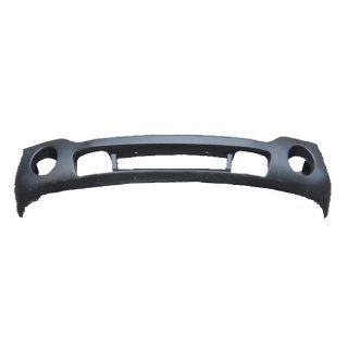 OE Replacement GMC Sierra Front Bumper Cover (Partslink Number GM1000684) Automotive
