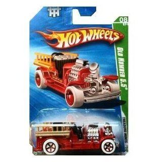 2010 Hot Wheels Treasure Hunts   Old Number 5.5 Toys & Games