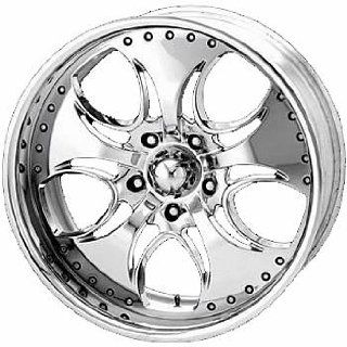 KMC KM755 20x8.5 Chrome Wheel / Rim 5x5.5 with a 12mm Offset and a 78.00 Hub Bore. Partnumber KM75528585212 Automotive