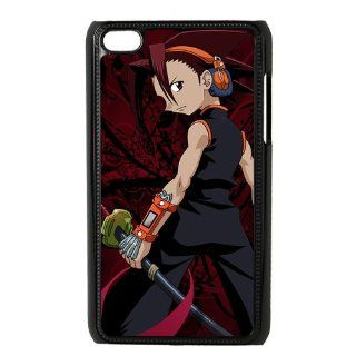 Dshellcase Custom Hard Plastic Case Cartoon/Anime Series Printed ipod touch 4 Case Cover Shaman King Cell Phones & Accessories