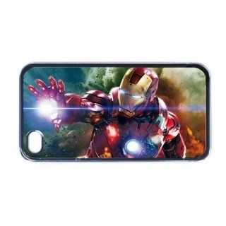 Ironman Movie Hero Cool Unique Design Phone Cases for iPhone 5 / 5S   Covers for iphone 5 / 5S Vol6 Cell Phones & Accessories