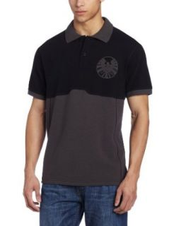Marvel Men's Shield Polo Shirt Clothing