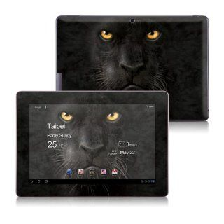 Black Panther Design Protective Skin Decal Sticker for ASUS Transformer TF700 Tablet and Keyboard Dock Station Computers & Accessories