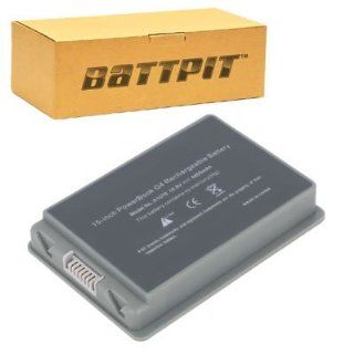 Battpit™ Laptop / Notebook Battery Replacement for Apple PowerBook G4 M9676F/A (4400mAh / 48Wh) Computers & Accessories
