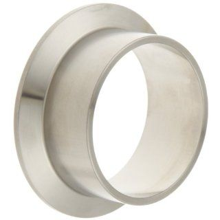 Dixon L14AM7X Series Stainless Steel 316L Sanitary Fitting, Schedule 10 Long weld Ferrule