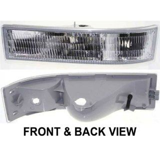 OE Replacement Chevrolet Astro/GMC Safari Driver Side Parklight Assembly (Partslink Number GM2520147) Automotive