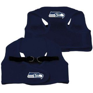 Seattle Seahawks Pet Dog Mesh Vest Harness SMALL/MEDIUM