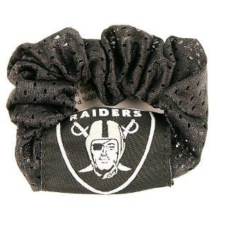 Oakland Raiders NFL Jersey Hair Scrunchie (Black)  Sports Fan Jerseys  Sports & Outdoors