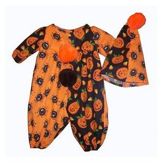 Preemie Baby Clown Halloween Costume Clothing
