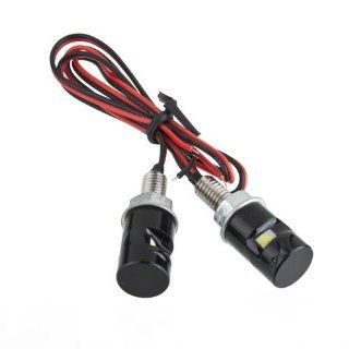 Universal 2 X White LED Motorcycle Motorbike & Car License Plate Bolt Light Bulb  Other Products