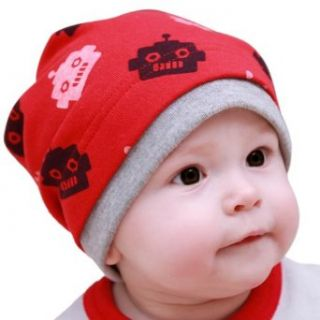 Meilaier Newborn Toddler Infant Baby Hat Girl Boy Cotton Knit Hats Cap Red Clothing
