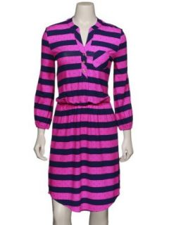 Lilly Pulitzer Women's Beckett Dress Mambo Pink Stripe MAMBOPINKPOLKADOTSTRIPE XS Clothing
