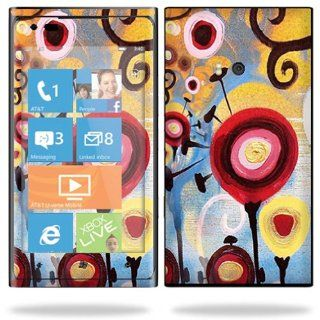 Protective Vinyl Skin Decal Cover for Nokia Lumia 900 4G Windows Phone AT&T Cell Phone Sticker Skins Nature Dream Cell Phones & Accessories