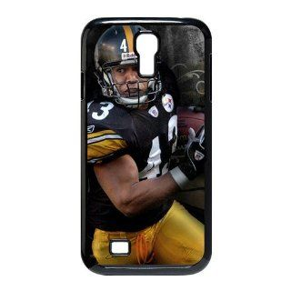 Nice NFL Pittsburgh Steelers Troy Polamalu #43 Cases Accessories for Samsung Galaxy S4 I9500 Cell Phones & Accessories