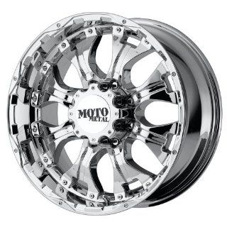 Moto Metal MO959 20x10 Chrome Wheel / Rim 5x135 with a  12mm Offset and a 87.10 Hub Bore. Partnumber MO95921013212N Automotive