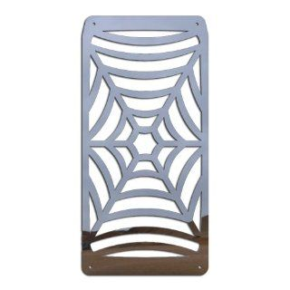 Ferreus Industries   Honda VTX1300 Spiderweb Polished Stainless Radiator Grille   GRL 106 03 Automotive