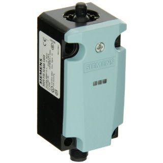 Siemens 3SE5 114 1CA00 1AF3 International Basic Switch, 40mm Metal Enclosure, M12 Connector Socket, 5 Pole, 2 LEDs, Snap Action Contacts, 1 NO + 1 NC Contacts, 24VDC LED Voltage