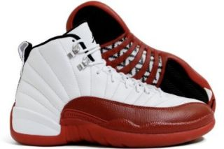 MENS NIKE AIR JORDAN 12 RETRO BASKETBALL SHOE (130690 110) Shoes