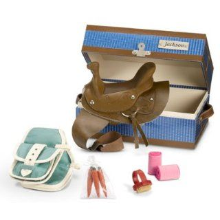 "American Girl Nicki ""Jackson's Tack Box"" for Nicki Doll's Horse Jackson Toys & Games"