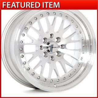 Avid.1 AV 12 16 16x8 4 100/4 114.3 +25 MACHINED SILVER WHEELS RIMS CIVIC CCW Automotive