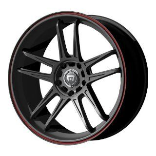 "Motegi Racing MR117 Matte Black Finish Wheel (17x7""/4x100mm) Automotive"