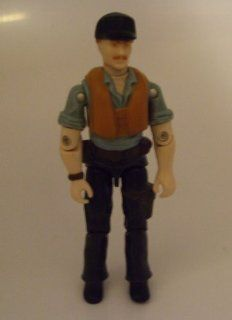 Vintage G.I.Joe Cutter 1984 Hasbro   Action Figure Doll Toy G I Joe Cobra (As Shown)