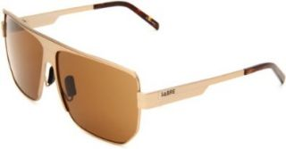 Sabre The Outsider SV64 137 3 Aviator Sunglasses,Matte Gold Metal & Tortoise Frame/Bronze Lens,One Size Shoes