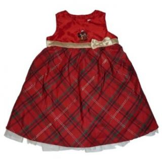 Disney Minnie Mouse Holiday Dress Size 9/12 Month Red Clothing