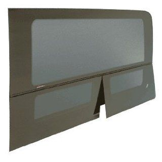 "CRL 2007+ All Glass Look Sprinter Van T Vent Driver Side Rear Quarter Panel Window for 144"" Wheel Base Van 57"" x 21 1/2"""