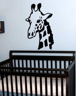 StickerBrand Vinyl Wall Art Decal Sticker Safari Giraffe Neck 36x22 #146A