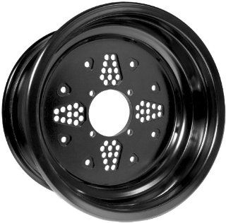 Douglas Wheel Rok N Lock Double Rolled Utility Wheel   14x7   2+5 Offset   4/156   Black , Color Black, Wheel Rim Size 14x7, Rim Offset 2+5, Bolt Pattern 4/156, Position Front/Rear RO14072556BLK Automotive