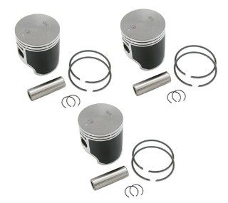 SPI, 09 718, (3) SPI Standard Bore Piston Kits Polaris Ultra SP 680 Pistons & Rings 66.6mm Automotive