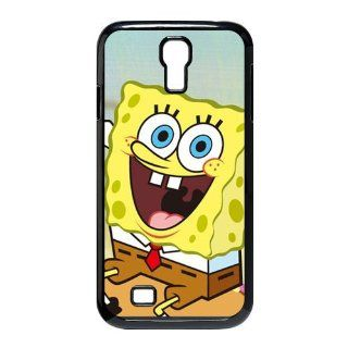 Well designed Cartoon SpongeBob SquarePants Cover Case For Samsung Galaxy S4 i9500  S4SS155 Cell Phones & Accessories