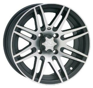 ITP SS316 Wheel   14x7   4+3 Offset   4/156   Black/Machined , Bolt Pattern 4/156, Rim Offset 4+3, Wheel Rim Size 14x7, Color Black, Position Front/Rear 1428523536B Automotive