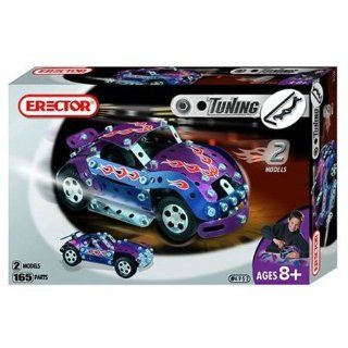 Erector Tuning Race Car, 165 Parts Toys & Games