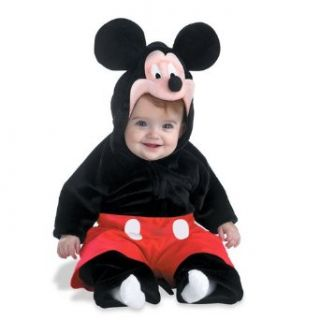 Mickey Mouse Deluxe Plush Costume Baby's Size 12 18 Months Clothing