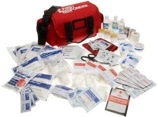 First Aid Only First Responder Emergency First Aid Kit, 159 Piece Bags Health & Personal Care