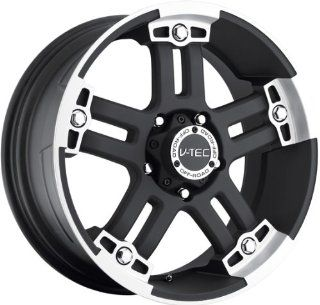 VISION WHEEL   394 warlord   20 Inch Rim x 9   (6x5.5) Offset (0) Wheel Finish   black machined face Automotive