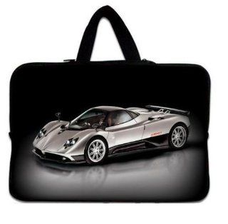 "NEW Fashion Designed cool car hearts 13"" 13.3"" inch Notebook Neoprene Soft Laptop Sleeve Case Carrying Bag Cover Pouch with Hidden Handle for Apple Macbook Pro 13"" Retina Display Air 13/ Sony VAIO/Samsung/DELL inspiron Vostro Studio XPS 13/H"