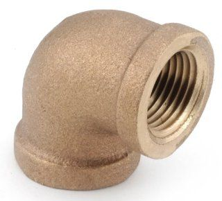 Anderson Metals 738100 08 1/2 Inch  Low Lead Brass 90 Degree   Angle Elbow