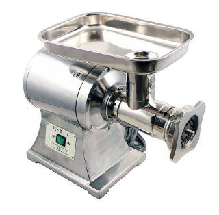 New MTN Gearsmith Commercial Heavy Duty Stainless Steel 1HP Automatic Meat Grinder No #22 blade Kitchen & Dining