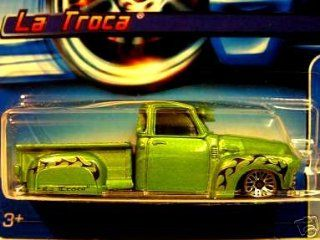 Mattel Hot Wheels 2005 164 Scale Green La Troca Die Cast Car #169 Toys & Games