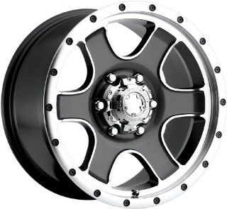 "Ultra Wheels Nomad RWD Type 173/174 Anthracite Gray Wheel with Diamond Cut (16x8""/8x5.5"") Automotive"