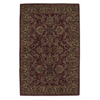 Nourison India House IH17 Area Rug   Burgundy   Area Rugs